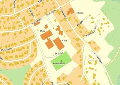 Trafiksituationen 2016 på Rosviks Skolområde (långsiktig plan)