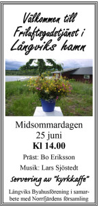 Midsommargudstjänst @ Långvik hamn