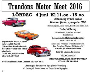 Trundön Motor Meet 2016 @ Trundön, Hjältviken