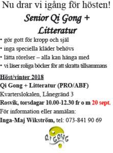 Qi Gong + Litteratur @ Kvarterslokalen | Norrbottens län | Sverige