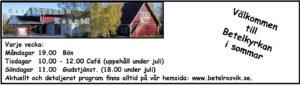 Gudstjänst @ Betelkyrkan | Norrbottens län | Sverige