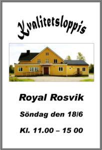 Kvalitetsloppis @ Royal, Rosvik | Norrbottens län | Sverige