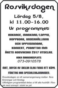 Rosviksdagen @ Rosviks centrum | Norrbottens län | Sverige