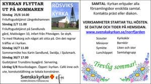 Friluftsgudstjänst @ Sandlunds gård | Norrbottens län | Sverige