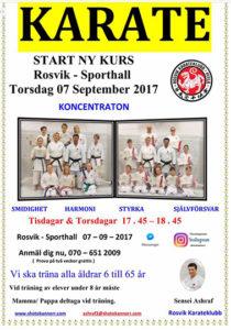 Karate @ Sporthallen, Rosvik