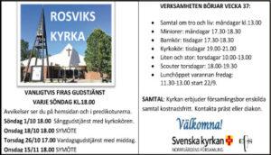 Liten och Stor @ Rosviks kyrka | Norrbottens län | Sverige
