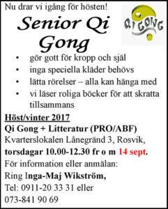 Qi Gong @ Lånegrändslokalen | Norrbottens län | Sverige