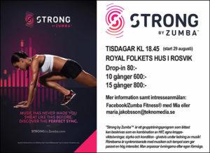 Strong Zumba @ Royal, Rosvik | Stockholms län | Sverige