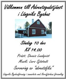 Adventsgudstjänst i Långvik @ Gävleborgs län | Sverige