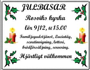 Julbasar @ Rosviks kyrka | Norrbottens län | Sverige