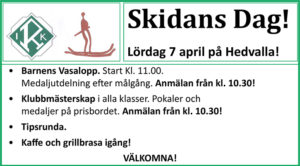 Skidans Dag @ Hedvalla | Norrbottens län | Sverige