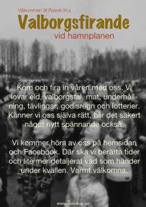 Valborgsmässofirande @ Hamnplan, Rosvik