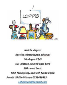 Loppis på Royal @ Royal, Rosvik | Norrbottens län | Sverige