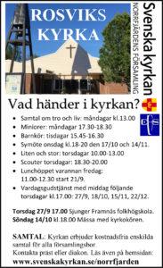 Barnkör @ Rosviks kyrka | Norrbottens län | Sverige
