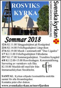 Sommargudstjänst i Trundöns byagård @ Trundöns byagård | Rosvik | Norrbottens län | Sverige