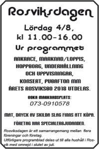Rosviksdagen 2018 @ Rosviks centrum | Norrbottens län | Sverige