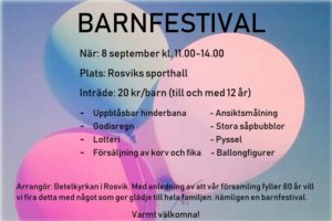 Barnfestival @ Rosviks Sporthall | Rosvik | Norrbottens län | Sverige