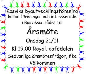 RBF Årsmöte @ Royal, Rosvik | Norrbottens län | Sverige