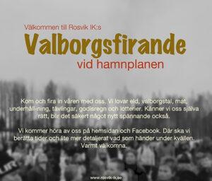 Valborg @ Klubben/Hamnen