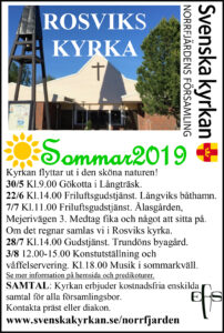 Gudstjänst i Trundön @ Trundöns byagård