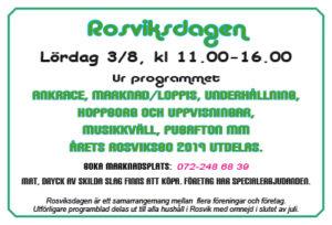 Rosviksdagen @ Rosviks centrum mm