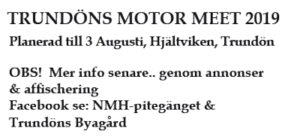 Trundön Motor Meet @ Hjältviken