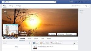 Facebook-Sidan